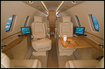Cessna Citation Sovereign CE680 interior